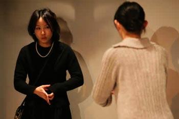 2008年『チカクニイテトオク』@サンモールスタジオ  撮影:鈴木順子