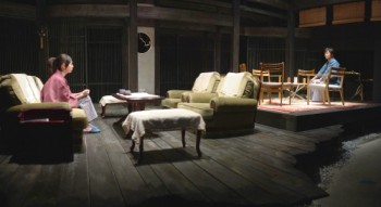 『火宅か修羅か』(2007年12月 こまばアゴラ劇場)©青木 司
