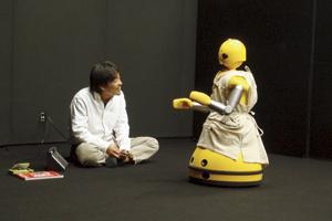 ロボット演劇プロジェクト『働く私』(2007年)提供:(株)イーガー