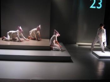 文学座+青年団自主企画交流シリーズ『職さがし』(2006) ©青木司